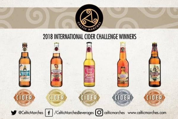 Celtic Marches success at international cider challenge