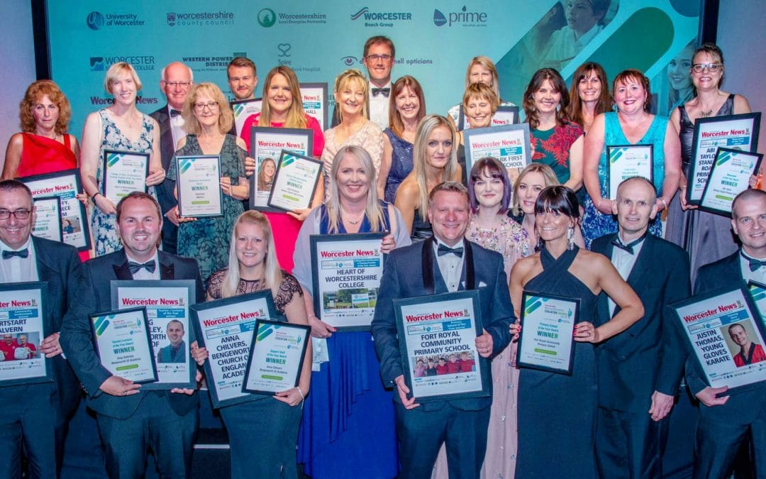 Winners announced at Worcestershire education awards