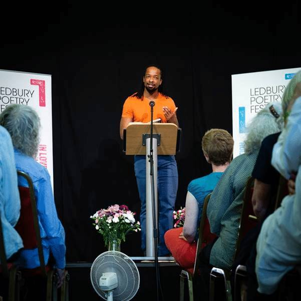 Herefordshire photographer captures the Ledbury Poetry Festival