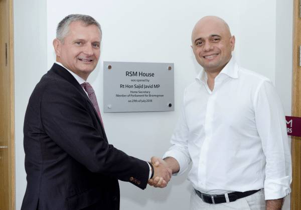 Home Secretary opens new Bromsgrove HQ