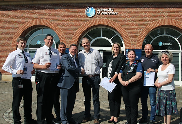 University staff receive accreditation to help keep community safe