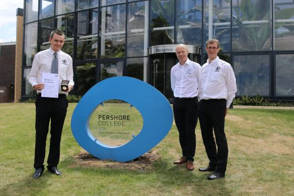 Double medal joy for Pershore College