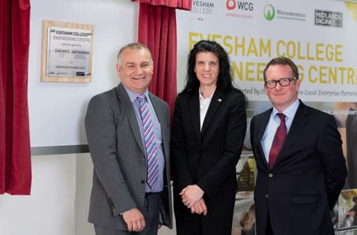 Evesham College launches new Engineering Centre
