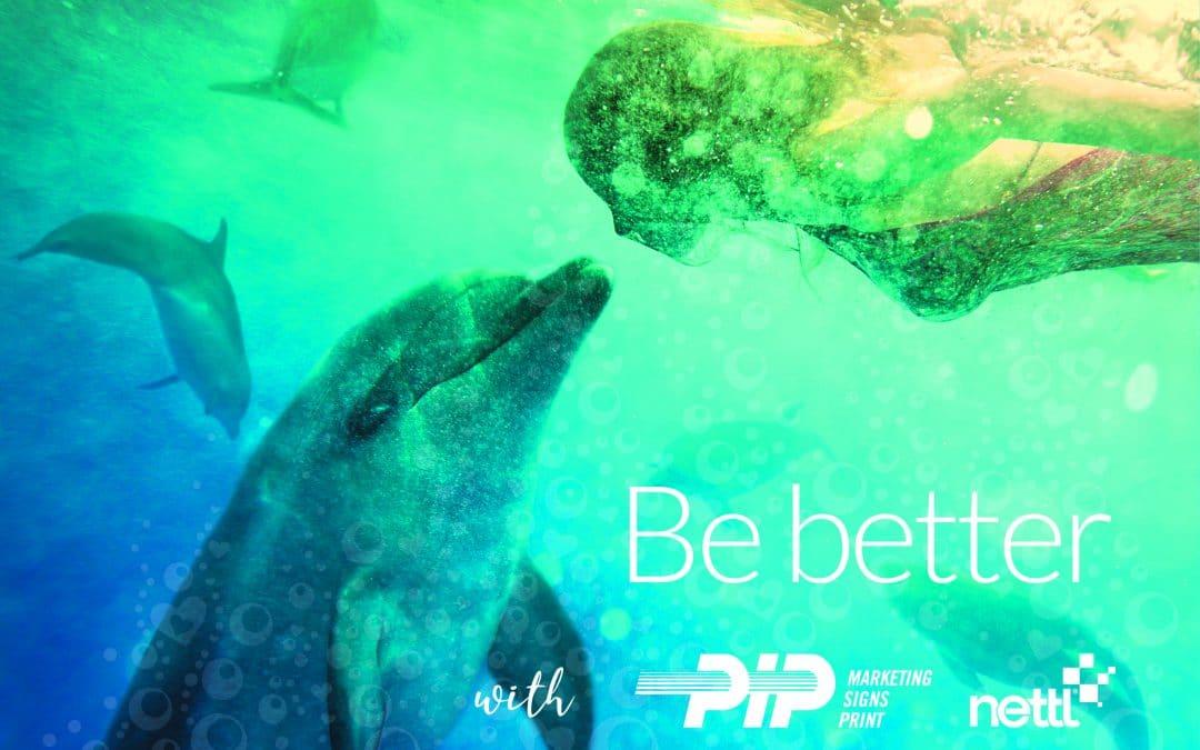 PIP Printing switch to bio-degradable film