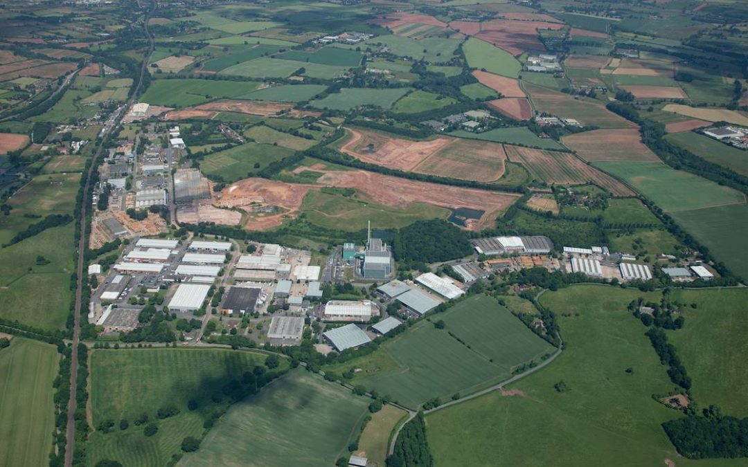 £3 MILLION IMRPOVEMENT PROGRAMME COMPLETED AT HARTLEBURY TRADING ESTATE