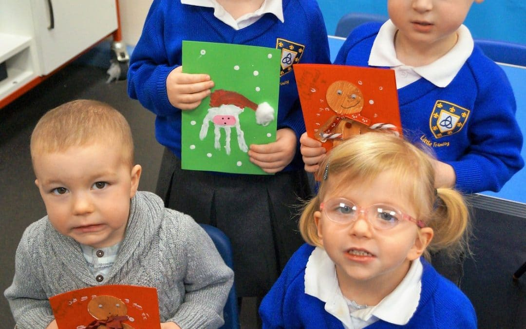 Nursery supports Kidderminster Library Christmas card appeal