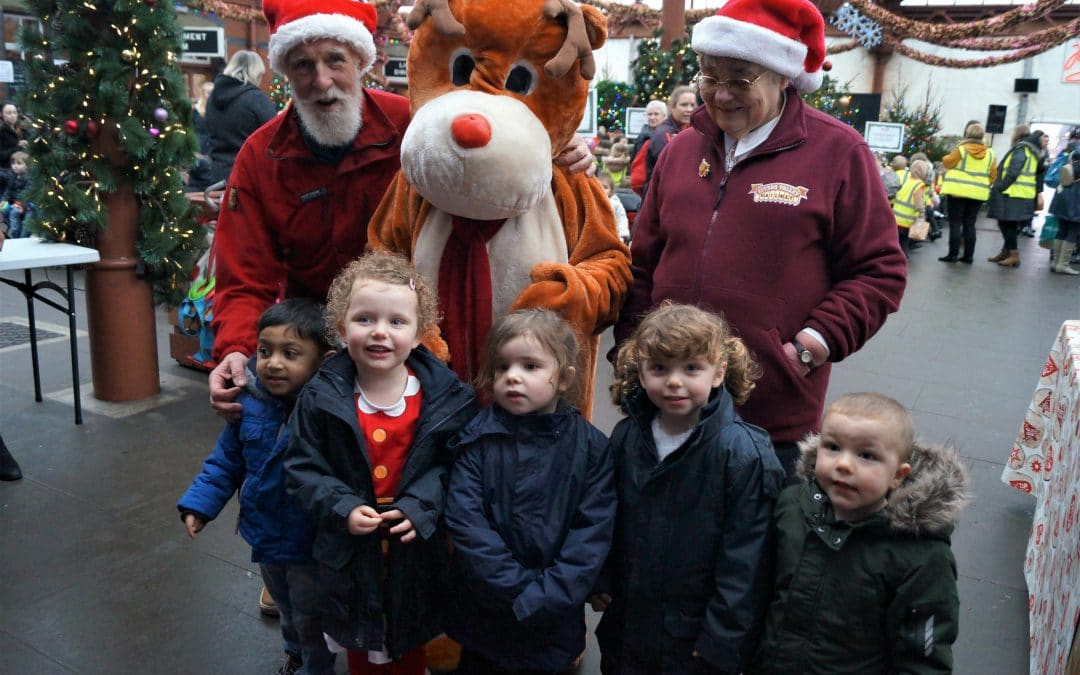 Nursery Christmas Fun On Severn Valley Railway