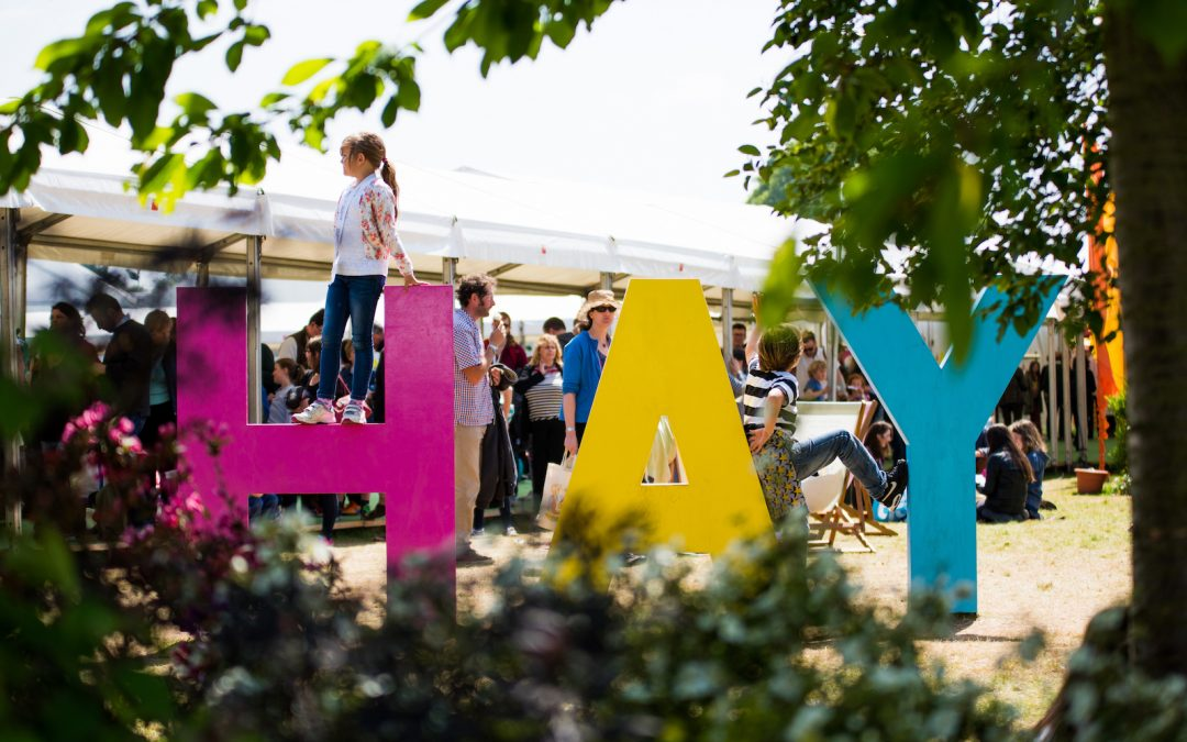 Research reveals £70m boost for area from Hay Festival visitors