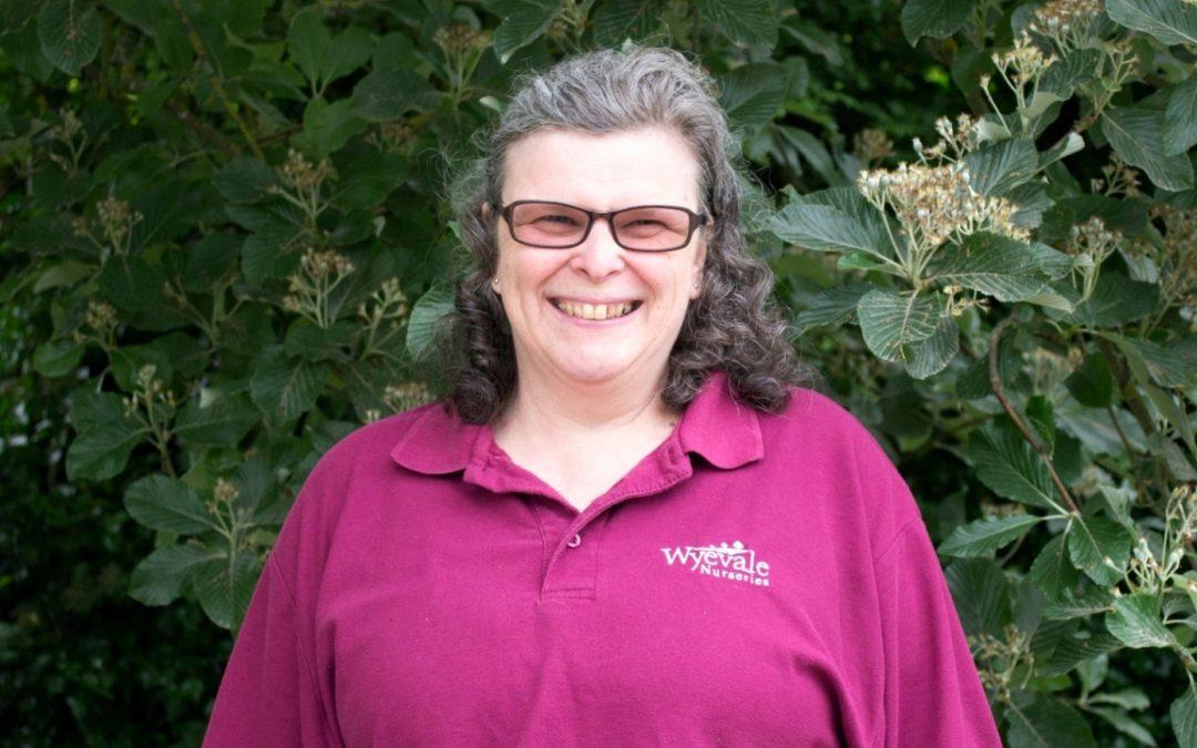 Wyevale Nurseries' Karen gets British Empire Medal