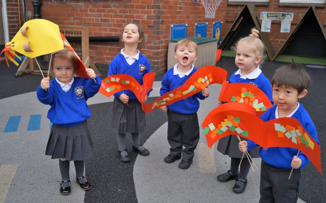 Kidderminster Nursery Enjoy Taste of Chinese New Year