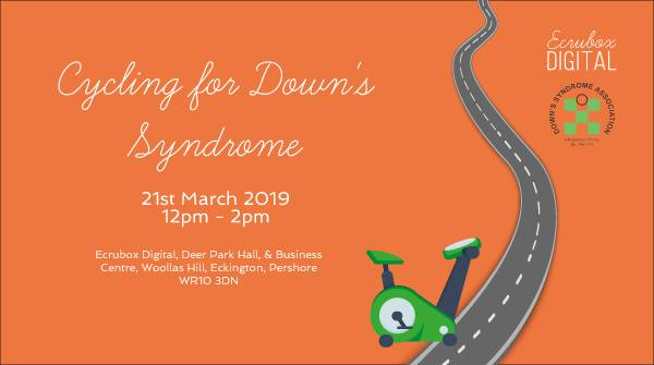 #TeamEcrubox get on their bike for Down's Syndrome Association