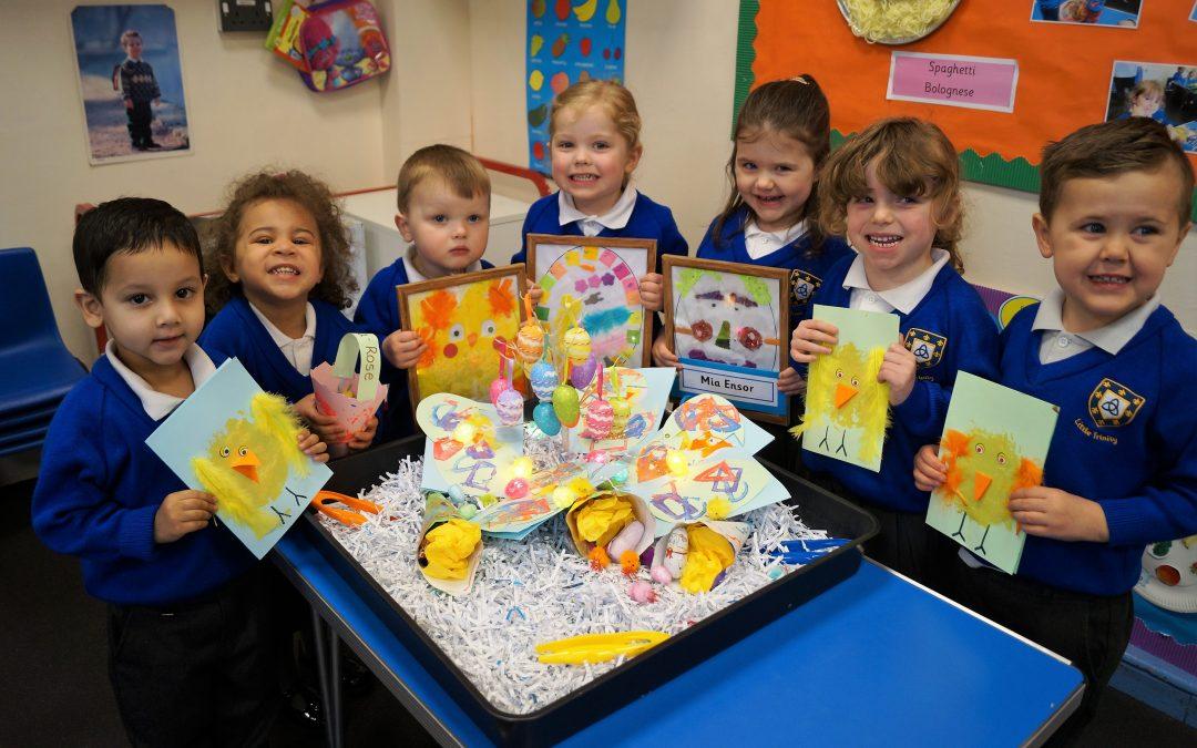 Crafty Easter Fun at Kidderminster Nursery