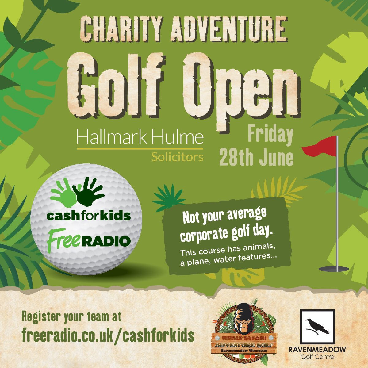 Charity Adventure Golf Open Herefordshire Worcestershire Chamber Of Commerce