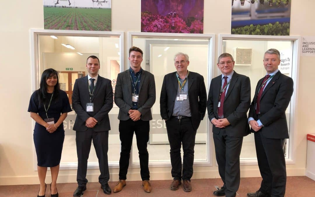 Pershore College officially launches agri-tech revolution