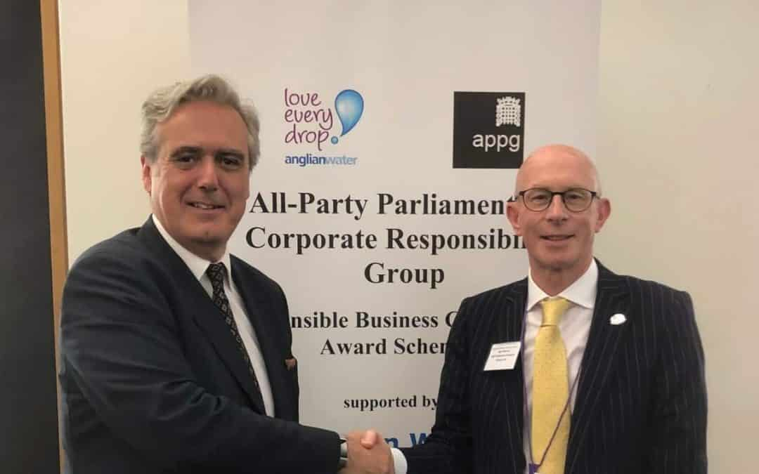 Kidderminster IT company, OGL Computer, shortlisted as 'Responsible Business Champions' in Parliamentary Awards Scheme