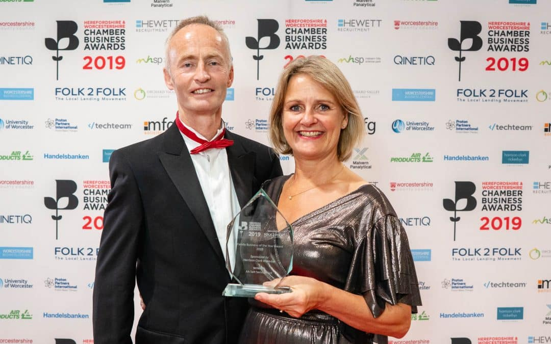 Worcestershire firm crowned Family Business of the Year