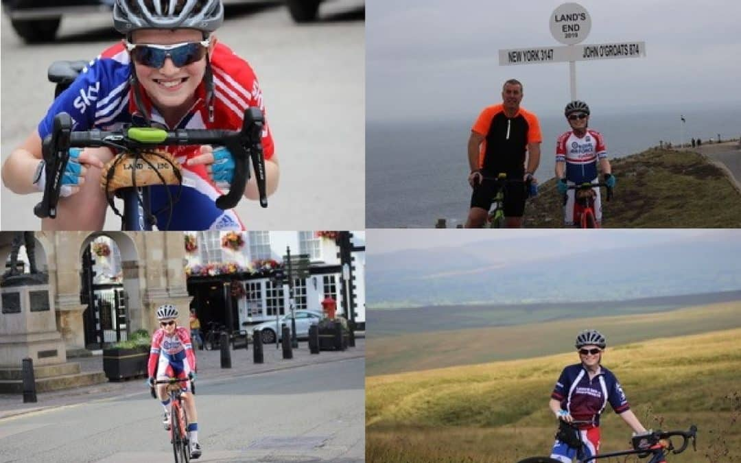 Kidderminster student cycling from Land's End to John o' Groats