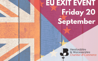 EU Exit Event: Save the date Friday 4 October 2019