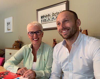 Worcester Warrior's Chris Pennell and Nutrition Consultant Lynn Adams Team up to Create Exciting New Business Venture