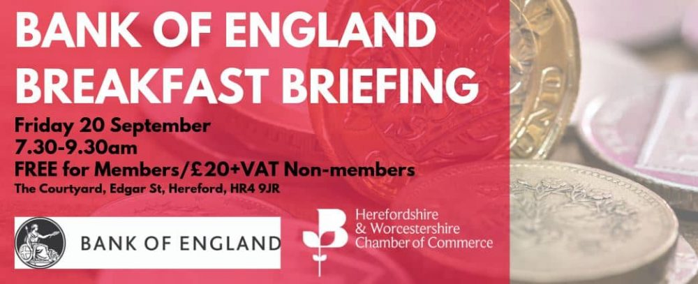 Annual Bank of England Breakfast Briefing 2019