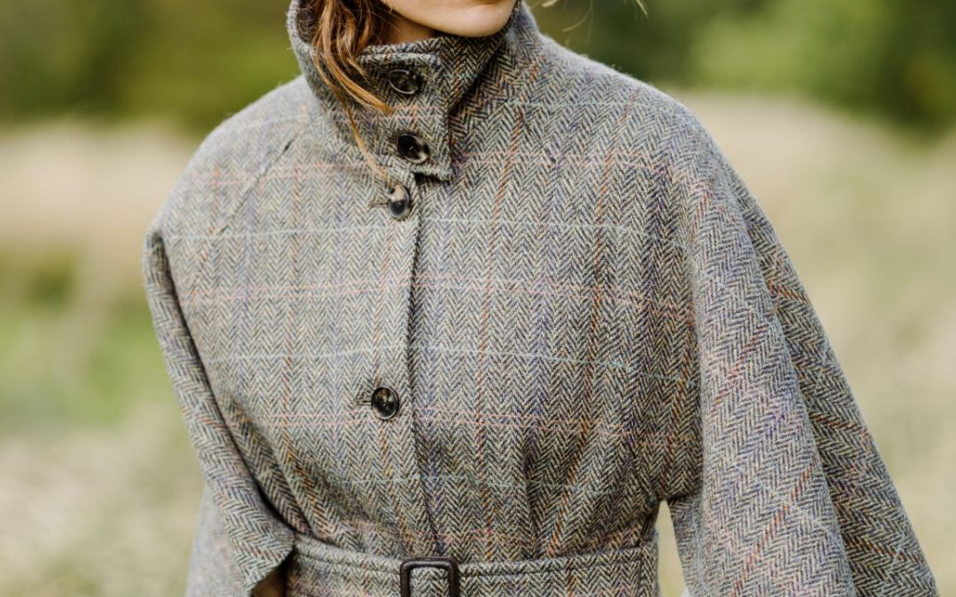 Jackie Maguire – styled in tweed and made in England