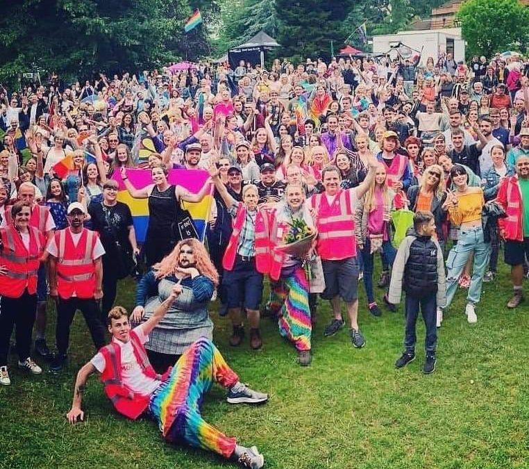 Malvern's First LGBT+ Pride – July 2019