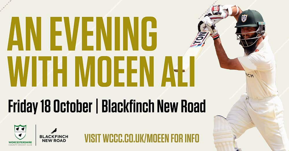 An Evening with Moeen Ali