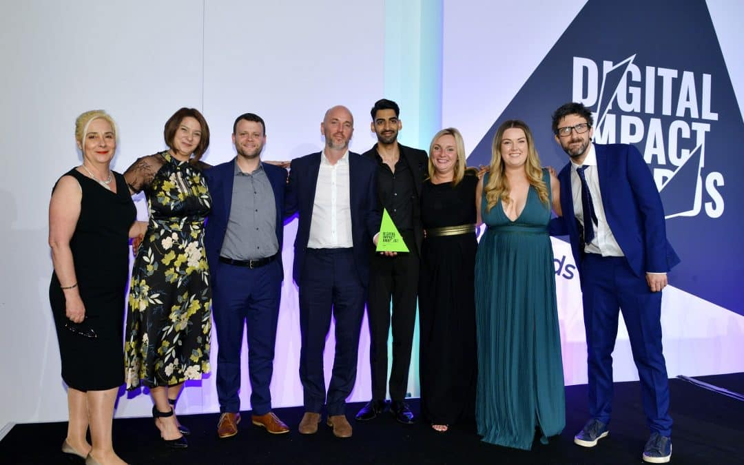DRPG named Digital Agency of the Year at the Digital Impact awards