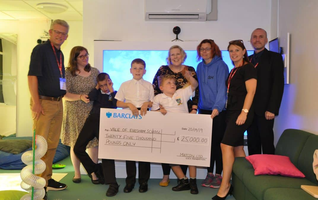 Matcon helps Vale of Evesham School to install new sensory classroom