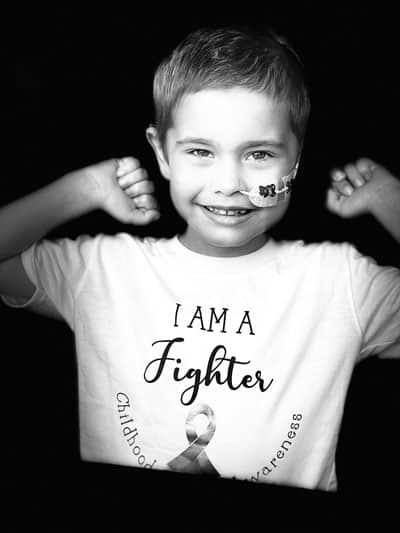 Oscar Saxelby- Lee a little boy who has leukaemia….