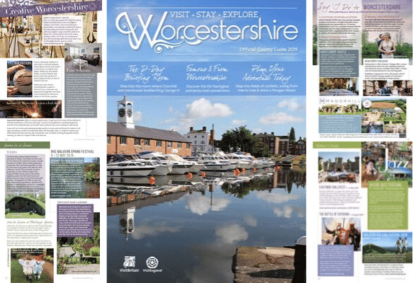 Visit Worcestershire 2020 Guide – Open for submissions