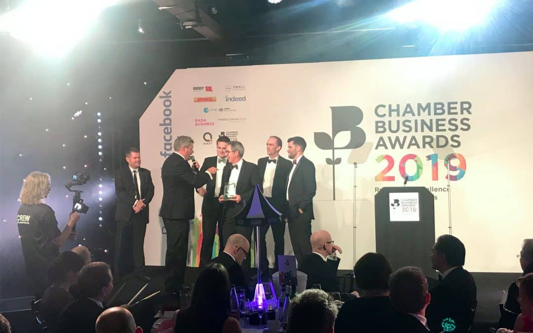 Bishop Fleming named Business of the Year at national Chamber of Commerce awards