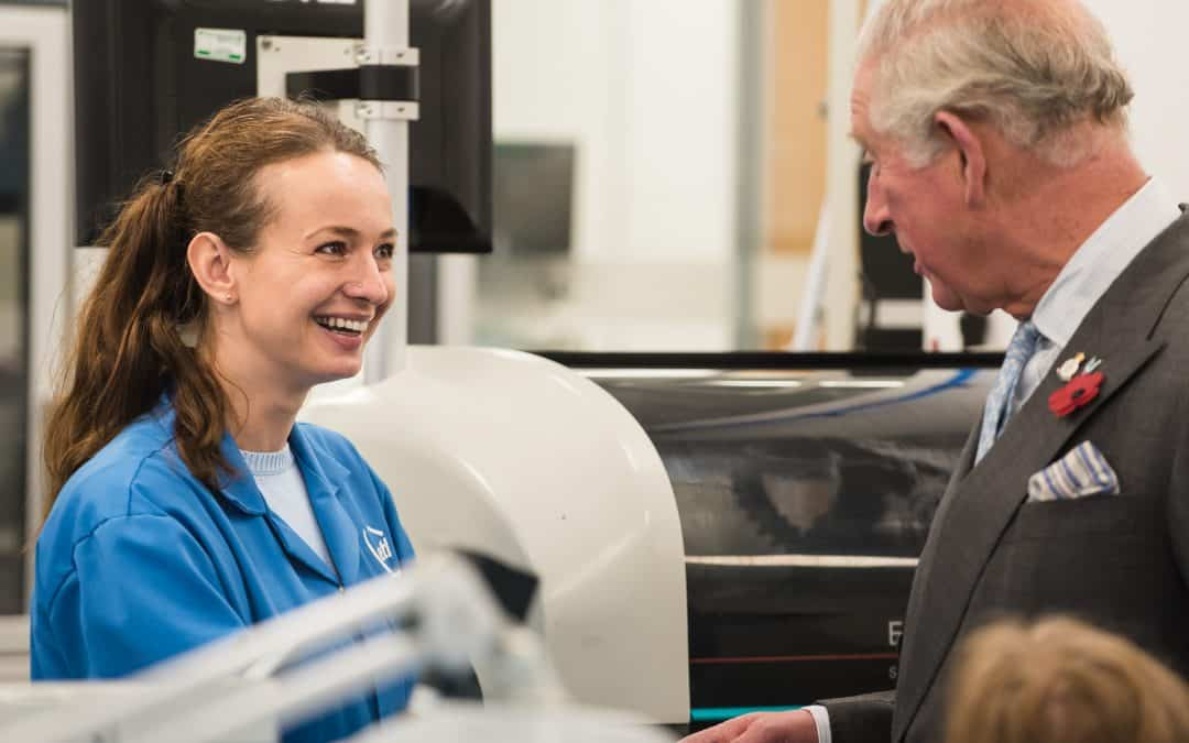 Prince Charles visits award-winning firm in Herefordshire