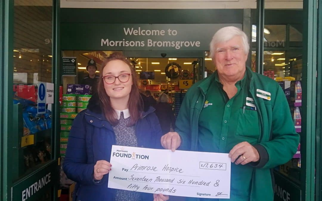 Morrison's Foundation Supports Primrose Hospice