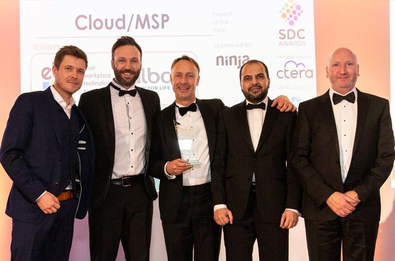 EBC Group Win National Cloud Award