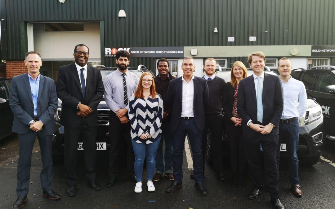 Worcester Electrical Connections Provider Receives Visit from Parliamentary Candidates