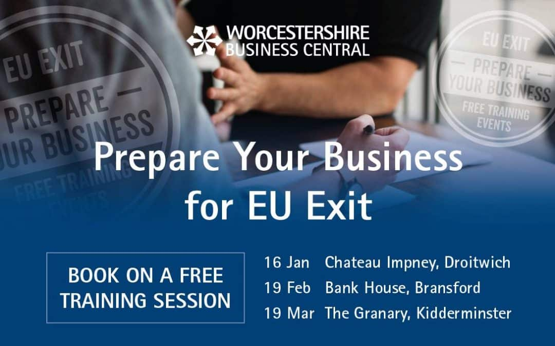 Prepare your business for EU exit at FREE training event