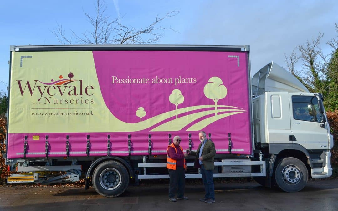 Wyevale Nurseries continues to modernise vehicle fleet