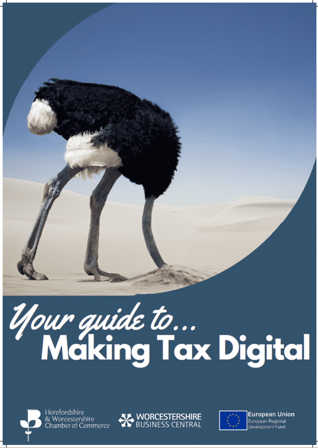 Making Tax Digital Front Cover