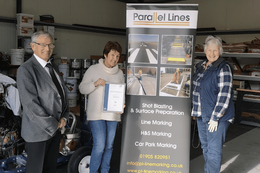 Parallel Lines achieve ISO 45001 certification