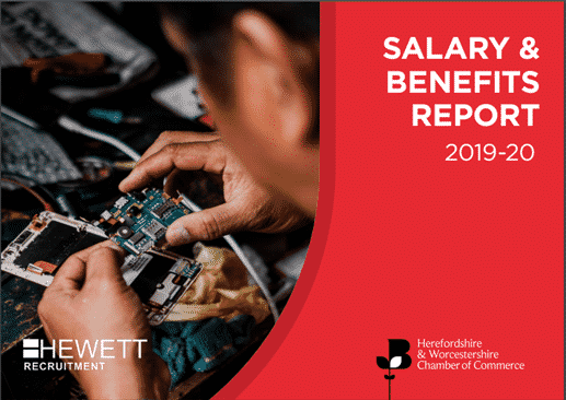 Salary & Benefits Report 2019-2020 Front Cover