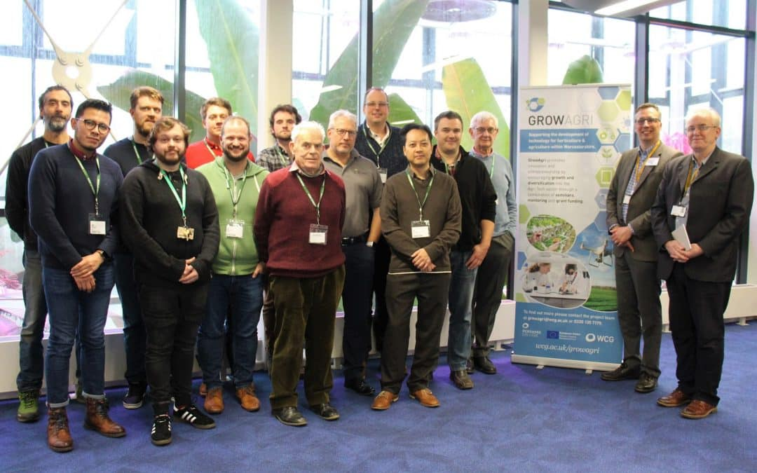 Worcestershire's vertical farming industry gets a boost