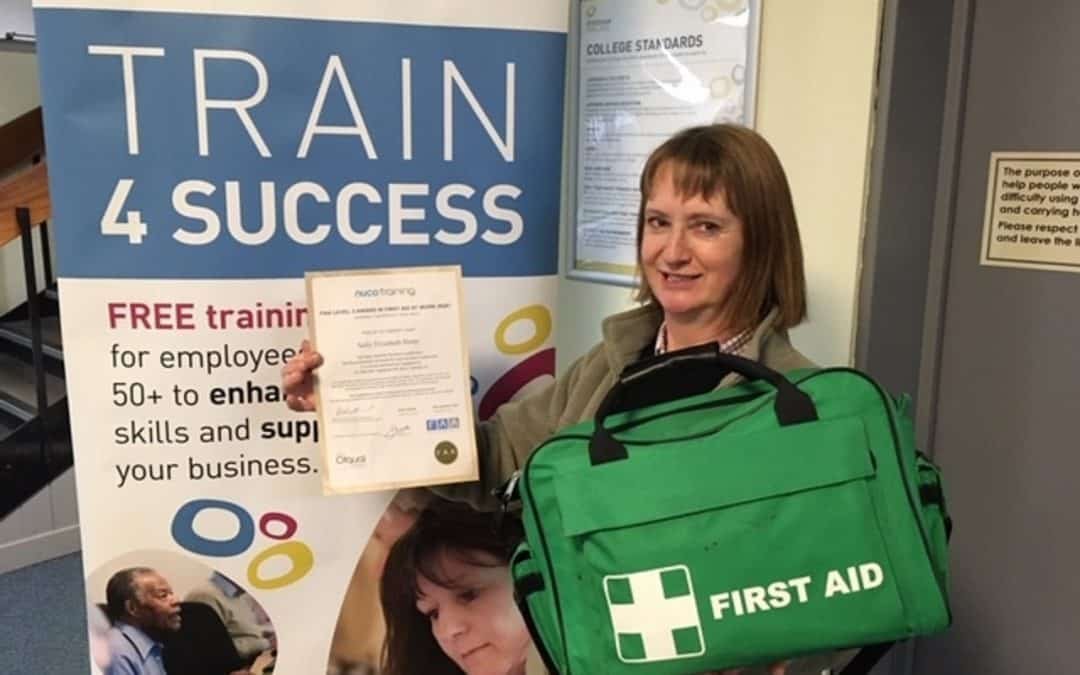 Pershore woman among the first to benefit from free training programme