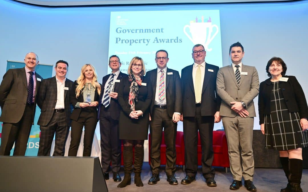 Double Win For Place Partnership At Inaugural Government Property Awards