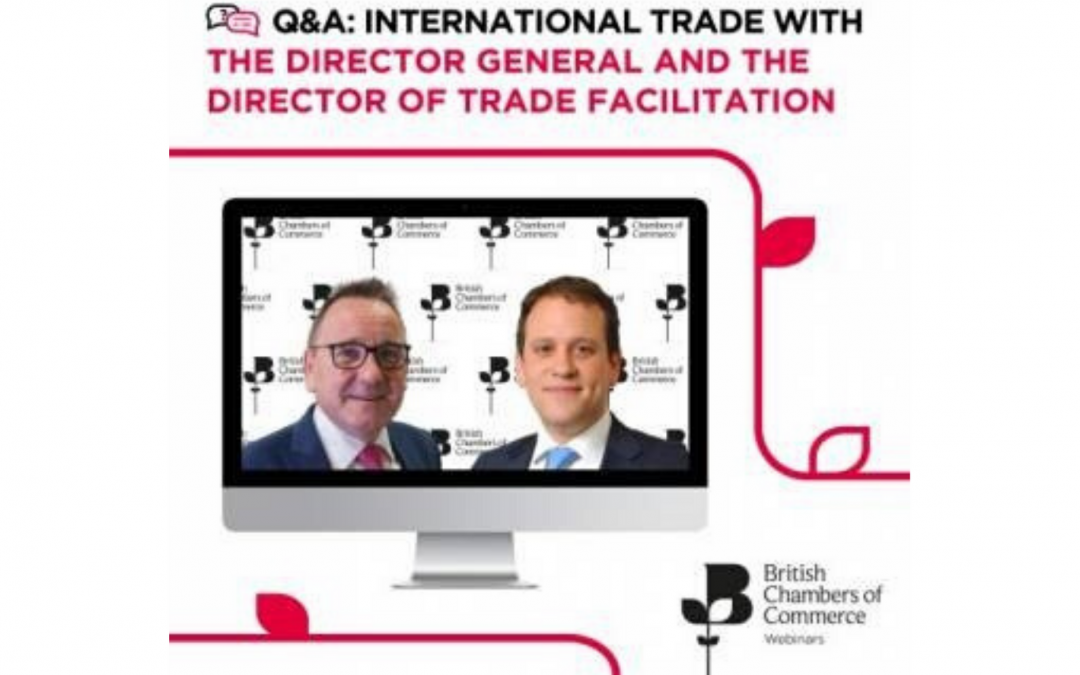 International Trade Q&A with BCC Director General and Director of Trade Facilitation