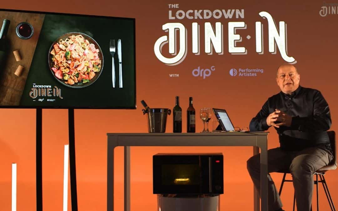 DRPG and performing artistes present: The Lockdown Dine In