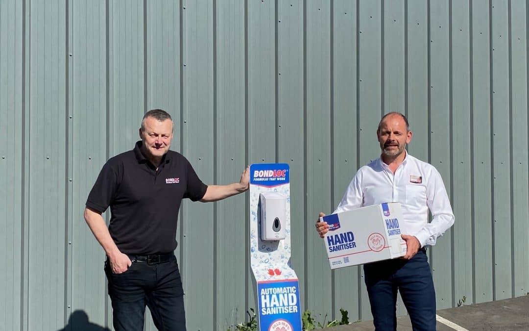Coronavirus: Bewdley Based adhesive manufacturer Bondloc switches 50% production to Hand Sanitiser