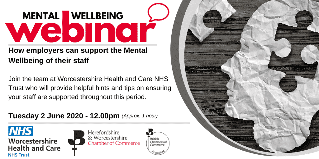 Webinar: How employers can support the Mental Wellbeing of their staff