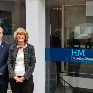 Husband and wife team enjoy a warm welcome at Hazelton Mountford
