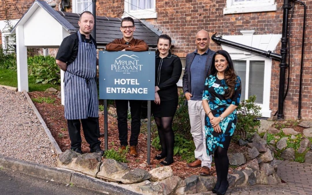 Local hotel supports local charity in Malvern
